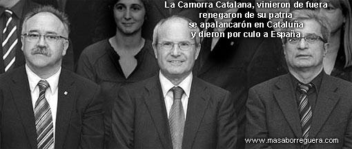 Catalanistas radicales Camorra Catalana
