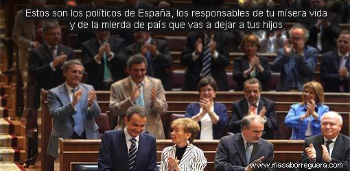 Educacion de los politicos España