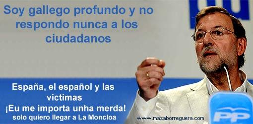 Preguntas a Rajoy carta a Rajoy